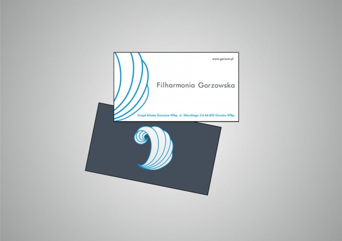 Identyfikacja wizualna – Filharmonia Gorzowska