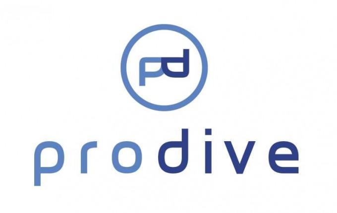 Logotyp – szkoła nurkowania ProDive