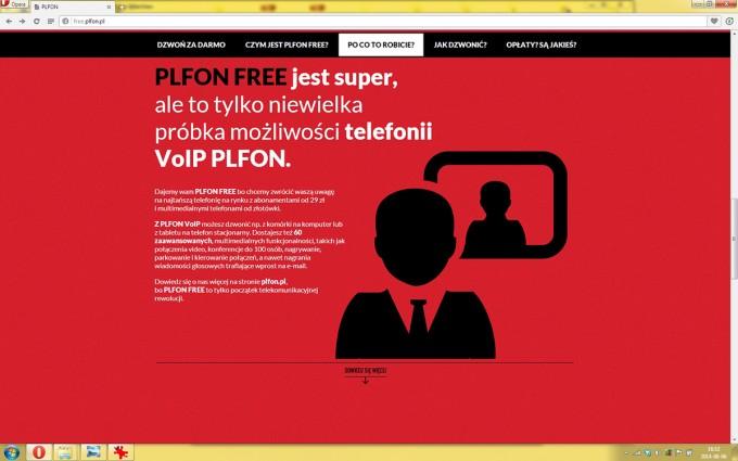 PLFON – microsite