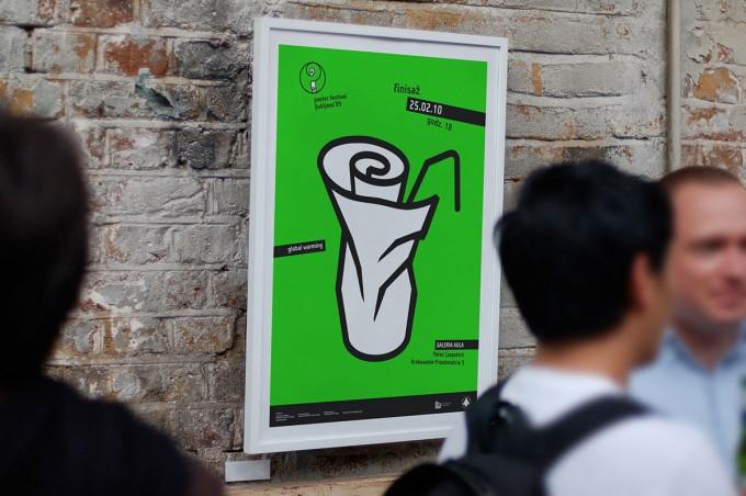 Plakat – Ljubljana 2009: finisaż