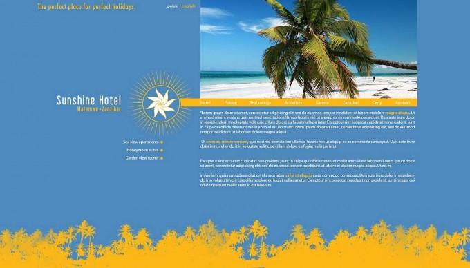 Sunshine Hotel – branding