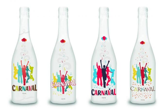 Carnaval – branding wina musującego
