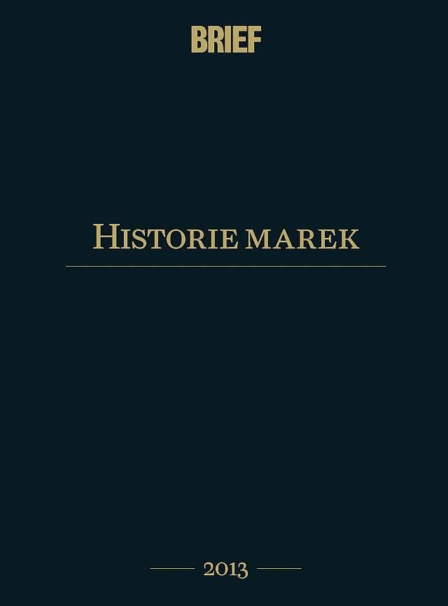 Historie marek 2013