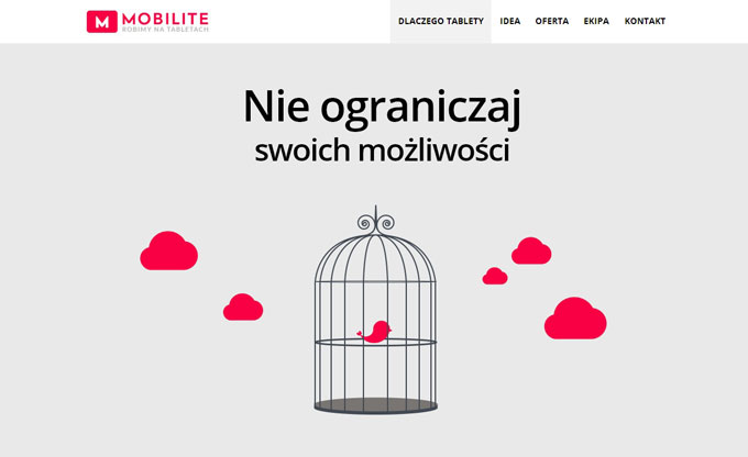 Mobilite – strona WWW