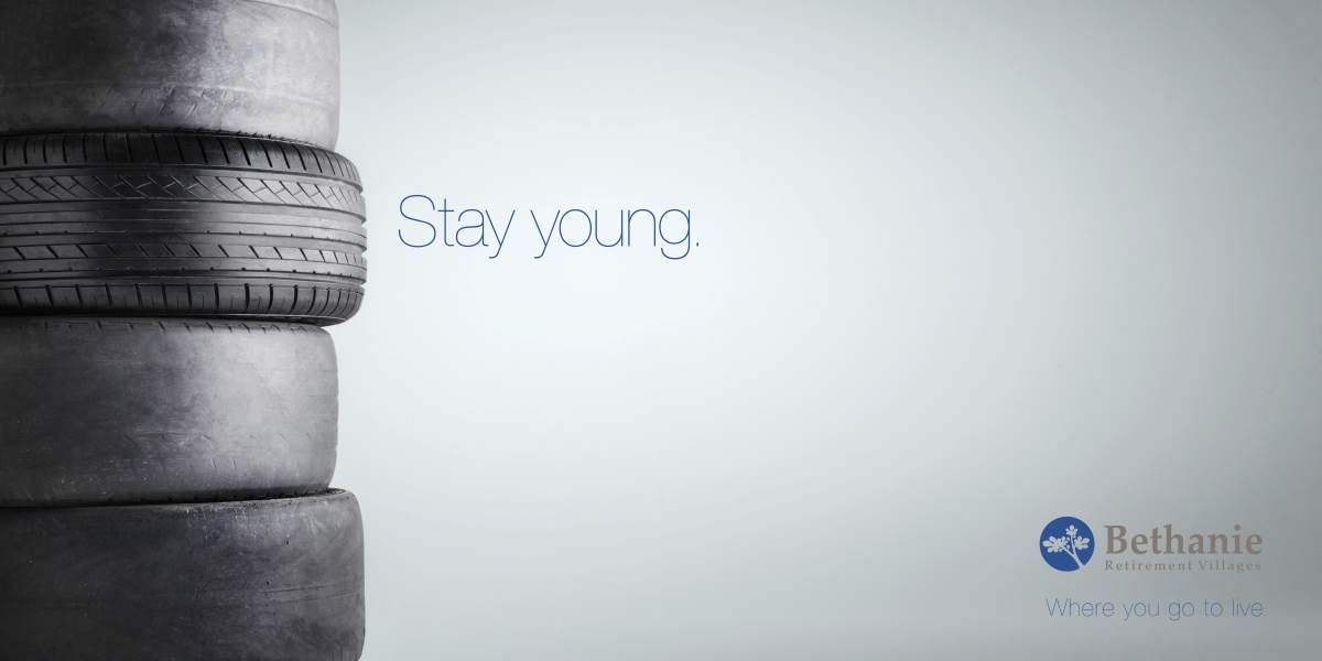 Stay Young. Key visual