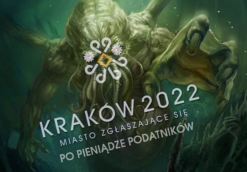 Kraków - kandydat na organizatora Olimpiady 2022 - logo nieoficjalne