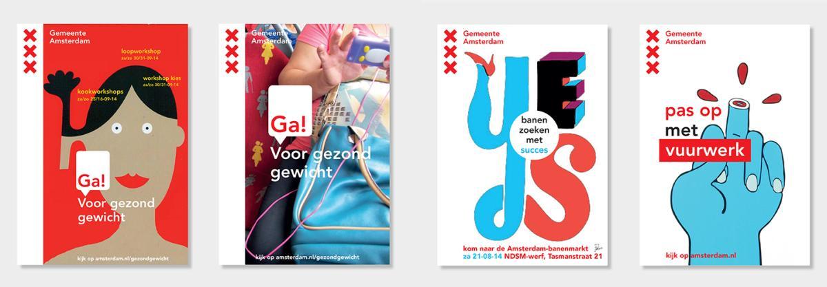 Amsterdam - materiały reklamowe