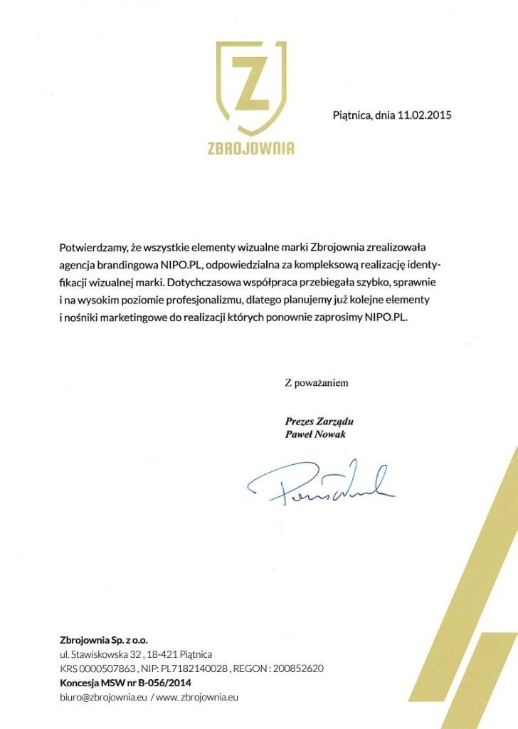 referencje_Zbrojownia