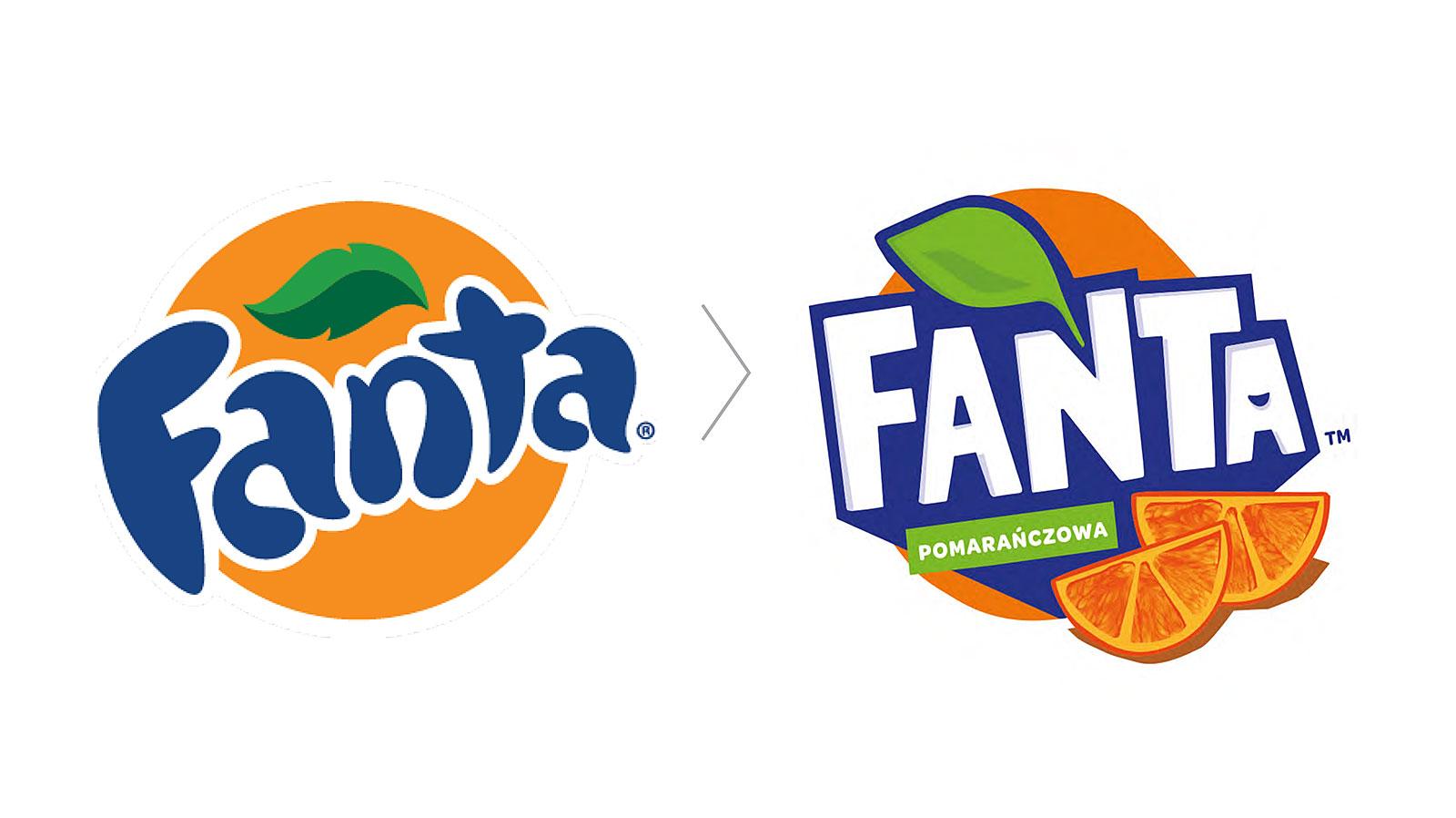 Fanta rebranding