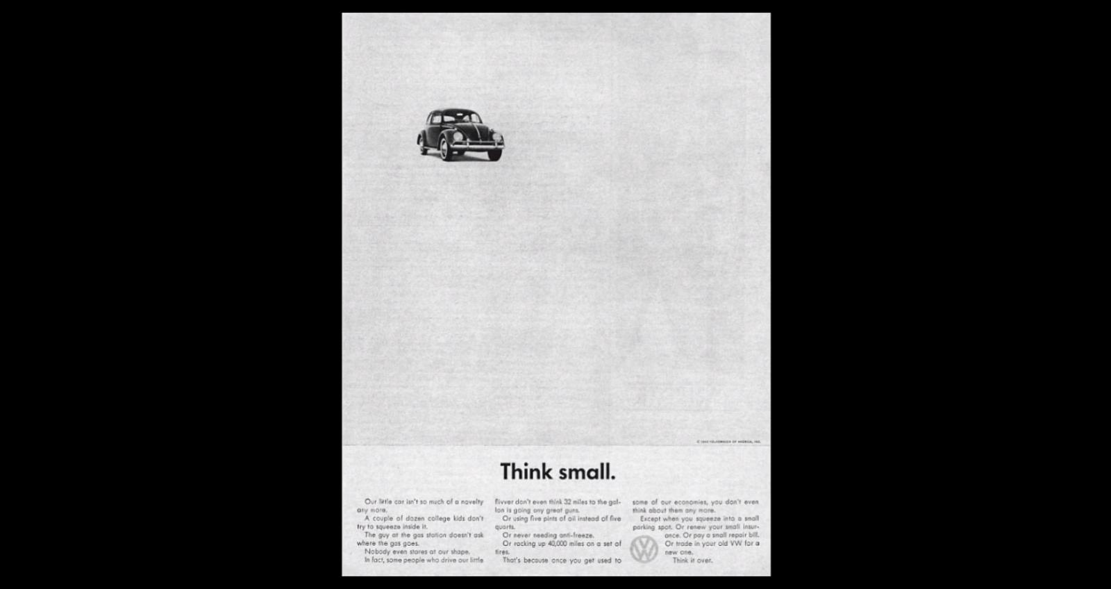 VW think small ads (5)